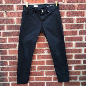 Gap Cropped Legging Stretch Skinny Jean Black